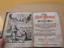 Göttlicher Gold-Gruben... (Rarität von 1712, Bruder Aemiliano)