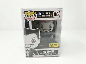 The Joker Pop! Heroes DC Comics Super Heroes Funko Figure 06 Hot Topic Exclusive
