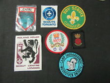 International Boy Scout Patch Lot of 11 Patches      c26