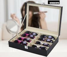 Brillenkasten Brillen Organizer Koffer Schatulle Aufbewahrungsbox Brillenbox