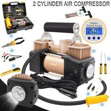 Car Air Compressor Heavy Duty Digital Tire Inflator Auto Tyre Pump DC 12V 150PSI