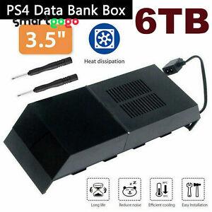 PS4 Storage Bank Box 6TB Hard Disk Drive Capacity External Playstation 4 GameBSG