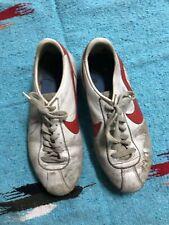 online store bb2a3 a0bac 80 s Vintage NIKE CORTEZ 8.5 Forest Gump RARE Korea Movie Leather Shoes  Distress