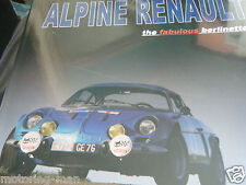 ALPINE RENAULT FABULOUS BERLINETTES ROY SMITH A110 MONTE CARLO RALLY RAC CORSICA