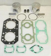 WSM KAWASAKI 550 SX Piston Top End Rebuild Kit PWC 010-812-10, 13001-3023, 13001