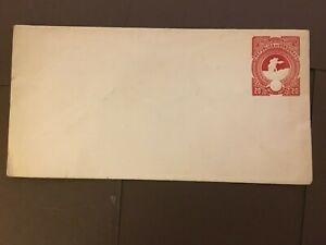 HONDURAS 1892-93  20 CENT PRINTED & EMBOSSED POSTAL STATIONARY ENVELOPE UNUSED