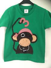 Geburtstagsshirt-Shirt mit Applikation *AFFE*, personalisierbar, Gr.98/104