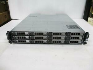"Dell PowerVault MD1200 12-Bay 3.5"" SAS Storage Array Enclosure W/ HDD Caddies"
