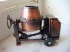 VINTAGE MINITURE of CEMENT MACHINE DIE CAST METAL BRONZE TONED(PENCIL SHARPENER)