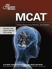 MCAT Verbal Reasoning Review, 2nd Edition (Graduate School Test Preparation) Th