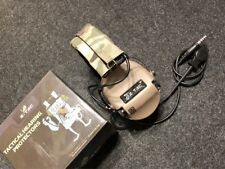 Z Tactical Sordin Military Style Headset with Noise Reduction - ZTAC Z111 TAN
