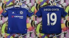 Chelsea Diego Costa #19 Football Shirt Soccer Jersey Adidas 2015 Youth S 9-10 Y