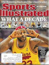 Sports Illustrated 2009 LeBRON JAMES Cleveland Cavaliers WHAT A DECADE Near Mint