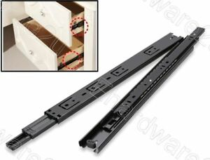 """Heavy Duty Full Extension Ball Bearing Cabinet Drawer Slides 12"""" (BBS2188-12)"""