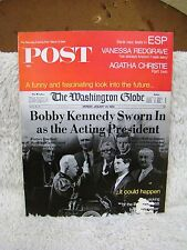 Saturday Evening Post Back Issue, Mar 9, 1968, Bobby Kennedy Sworn In As Acting