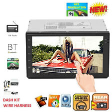 "7"" 2 DIN Android 6.0 WiFi Car GPS Bluetooth Stereo Radio MP5 FM DVD Player Touch"
