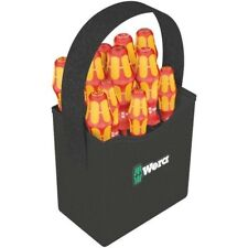 Wera 004310 Kraftform 2go 100 Insulated 1000V VDE Screwdriver Set In Quiver 11pc