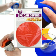 3 x RUBBER BOTTLE & JAR LID OPENER Gripper Tight Lids Turner CAN COVER Food Seal