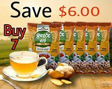 Steuarts Ginger Tea 100% Natural Ceylon Tea Instant Caffeine Free  100g x7 Pcs