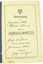 Arbeitsbuch Deutsches Reich 1927