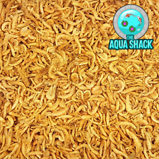 Natural Dried Krill - Floating Koi Pond Food | Treat Shrimp Ornamental Garden