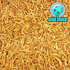 Natural Dried Krill - Floating Fish Food Marine Freshwater Shrimp Terrapin Koi