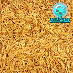 Natural Dried Krill - Floating Fish Food Marine Freshwater Shrimp Terrapin Koi