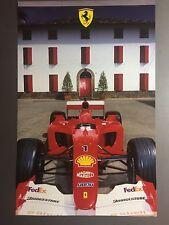 2002 Ferrari F1-2001 Formula 1 Race Car Print Picture Poster RARE!! Awesome L@@K