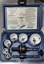 12 pc Kit #3 Hole Saw Kit Bi-Metal & Plastic Case