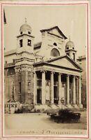 Genoa Eglise Italia Foto PL17c2n38 Cartolina Armadio Vintage Albumina
