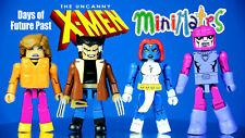 Marvel Minimates Uncanny X-Men Days of Future Past SDCC Exclusive USED Lot of 4