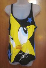 TWEETY BIRD women's lrg sleepwear tank-top Looney Tunes sexy sleeveless nightie