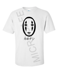 """Mens Novelty Gift Unique Spirited Away Anime T-Shirt """"No Face""""  S - XL"""