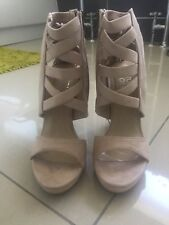 Asos Light Grey High Heels BNWT Size 4