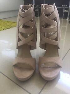 Light Grey Tassel Stilettos/High Heels BNWT Size 4