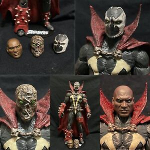 Custom Spawn head set Kickstarter Classic Al Simmons Shoelace face