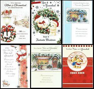 NAN AND GRANDAD ~ CHRISTMAS CARD ~ CHOICE of Quality DESIGNS