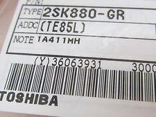 4 Stück - 2SK880GR - TOSHIBA SOT323 - Low Noise FET N-Channel - 2SK880