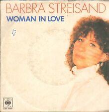 Barbra Streisand – Woman In Love - CBS 8966 - Italy 1980