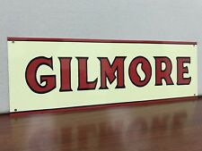 Gilmore lion Gasoline Garage Metal  Racing  Gas sign