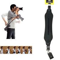 DSLR Quick Rapid Shoulder Neck Strap Belt fr Canon Nikon Camera