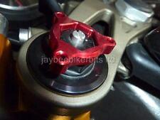 Horquilla pre carga ajustadores 17mm Rojo Suzuki gsx1400 Gsxr1100 Tl1000r Tl1000s r1b9