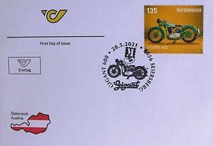 Ersttag - GIGANT 600 - Serie Motorräder - Österreich SM Mai 2021