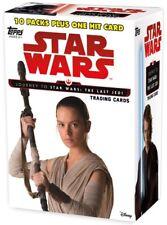 Journey to Star Wars: The Last Jedi Trading Card BLASTER Box [10 Packs]