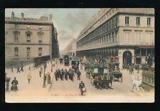France PARIS La Rue de Rivoli c1900s? PPC picture poscard by ND