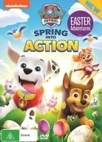 Paw Patrol - Spring into Action - DVD - Region 4 - AUS PAL Nickelodeon- NEW