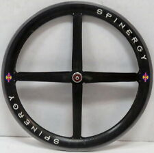 "Spinergy Rev X Roks Carbon Fiber Mountain Bike Front Wheel 23"" Rim Black/Gray"