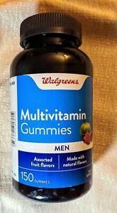 Walgreens Men's Multivitamin Fruit Gummies 150 Each