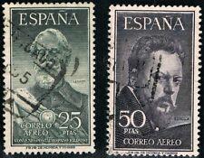 1953-  EDIFIL 1124/25 (usados) LEGAZPI  Y SOROLLA