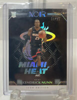 2019-20 Panini Noir Icon Edition Kendrick Nunn Rookie Card 5/25 Rare